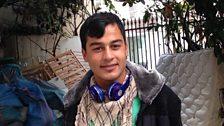 Afghan refugee Ali