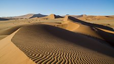 Some of the oldest and largest sand dunes in the world.