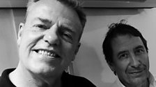 Suggs and Jools Holland