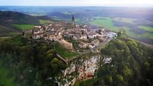 Built high on a rocky outcrop, this is an ancient fortified village in South-west France.
