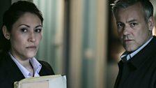 Detective Inspector Hopkins & Detective Inspector Lestrade