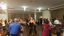 Dancers in the Glen Pavilion