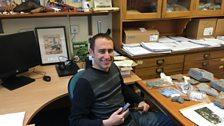 Palaeontologist Dr Steve Brusatte