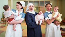 Midwives and Nun with babies