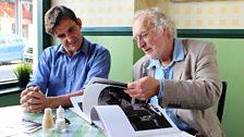 Stephen McGann and photographer Nick Hedges