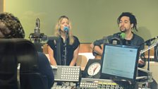 The Shires perform live in the Musician's Circle