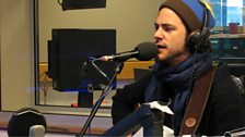 Jack Savoretti performs live in the Musicians Circle