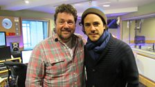 Michael Ball welcomes Jack Savoretti into the Musicians Circle