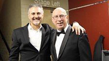 Ken Bruce & Simon Bowman