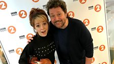 Lindsey Stirling performs live on the Michael Ball Show