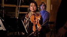 Chihiro Ono (L) and Tim Cape of Phaedra Ensemble