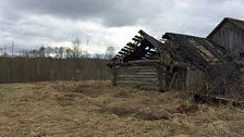 Abandoned homes and empty villages in the Pskov region