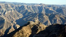 The Copper Canyon in Chihuahua covers 25,000 square miles