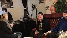 Clare and Giacomo Smith & Pete Horsfall from Kansas Smitty's House Band