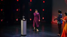 Shyam Dattani is announced as the winner of the South Asian Dance Category Final