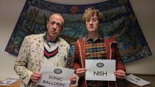 Arthur Smith and James Acaster