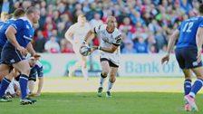 Pienaar in his final game for Ulster
