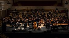 The Necks perform with the BBC Scottish Symphony Orchestra and conductor Ilan Volkov
