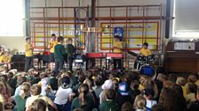 Trelales Primary School perform their Ten Pieces Assembly