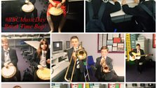Students and staff celebrate BBC Music Day at Havelock Academy