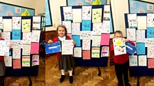 Ten Pieces posters and certificates at Merllyn C.P. School