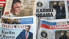Barack Hussein Obama Jnr was born in the United States