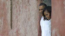 In 2013, Barack Obama visited Goree Island