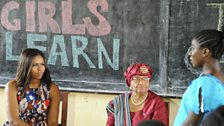 In June 2016, US First Lady Michelle Obama visited a leadership camp for girls in Liberia