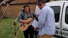 Danni Nicholls with Stephen Foster