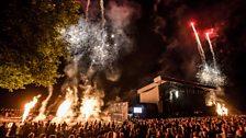 Henley festival: Fireworks
