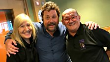 Michael is joined by Brendan O'Carroll and Jennifer Gibney