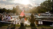 Henley Festival: Boat picnic