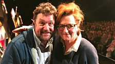 Barbara Dickson speaks to Michael Ball