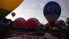 Open Country's balloon flight over Bristol
