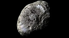 Hyperion is touted as one of the oddest moons