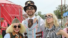 Steampunk time travellers