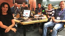 Presenters and Guests in the Studio - 30th September