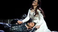 Jonas Kaufmann as Otello and Maria Agresta as Desdemona