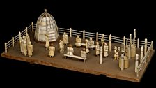 A model of the great summer festival of the Sakha people of Siberia