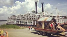 Secret History Shantyboat meets the American Queen
