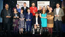 The 2017 Winners of the BBC Sussex Community Heroes Awards