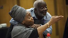 Angela Wynter and Joseph Marcell