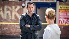 Silent Witness Series 21 Duty of Candour Part 1 Jack Hodgson (David Caves) and Dr Nikki Alexander (Emilia Fox)