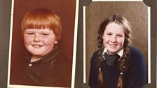 Jackie & Mark as children