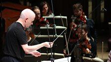 George Benjamin rehearses the London Sinfonietta