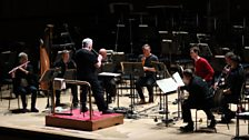 David Atherton rehearses the London Sinfonietta