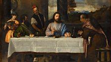 Titian (c. 1488/90–1576), The Supper at Emmaus, c. 1534. Musée du Louvre, Paris, Department of Paintings, inv. 746