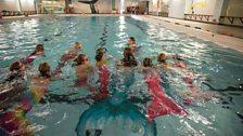 Swim like a mermaid