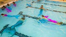 Fin2Fit mermaid swimming