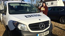 Anna was in the south-west of the county to start this week's show